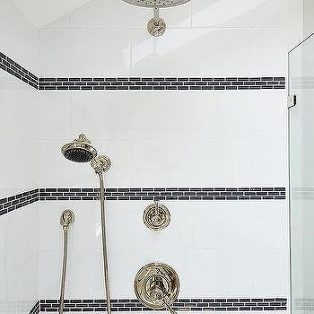 White Bathroom Border Tiles border tiles design ideas