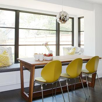 Incredible Yellow Plastic Dining Chairs Design Ideas Machost Co Dining Chair Design Ideas Machostcouk
