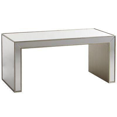 Alexa Mirrored Champagne Coffee Table