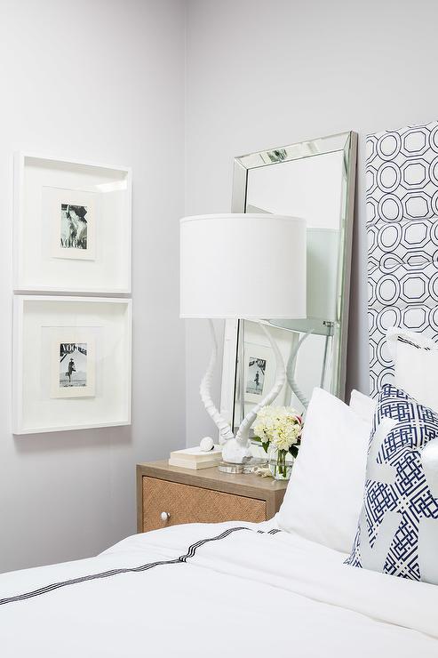 Black And White Shower Curtain Headboard