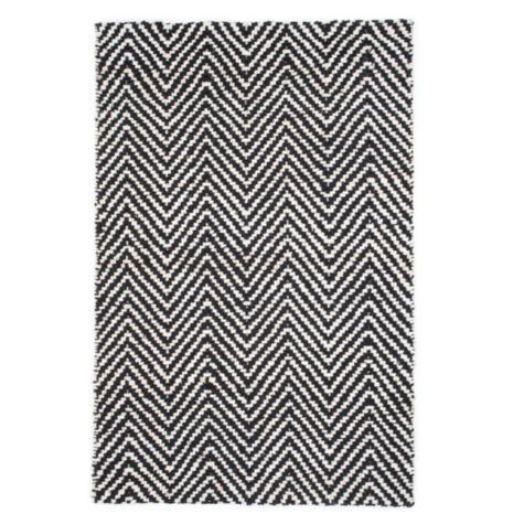 Hampton rug in black and white - Black and white rug ...