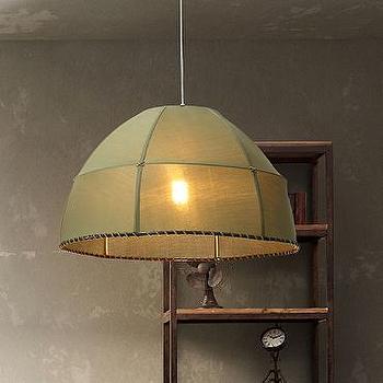 Beige Circlet Ceiling Light