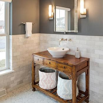 Charcoal Gray Bathroom Paint Colors