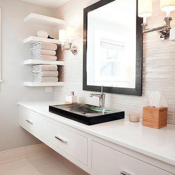 Wall To Wall Floating Bathroom Vanity