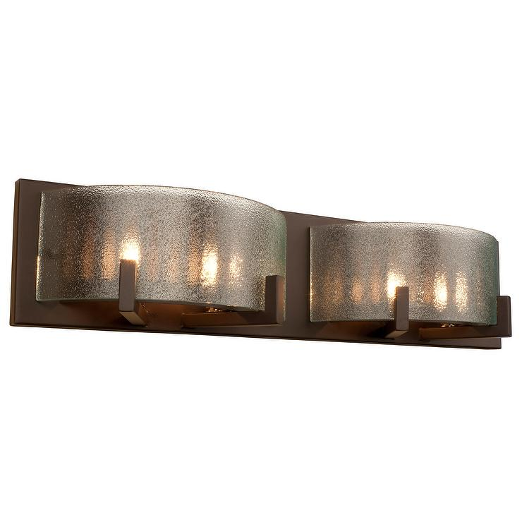 2 light antique bronze crystal wall sconce in brown natalia 2 light antique bronze crystal wall sconce in brown aloadofball Image collections