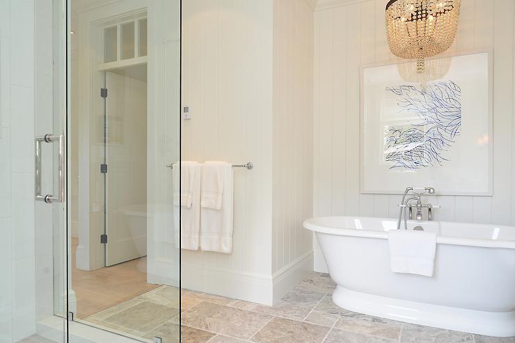 Bathroom Tub Chandeliers chandelier over tub design ideas