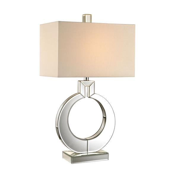 Dimond omega mirror table lamp in mirror aloadofball Choice Image