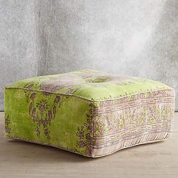 Plum Amp Bow Ava Large Storage Ottoman I Urban Outfitters
