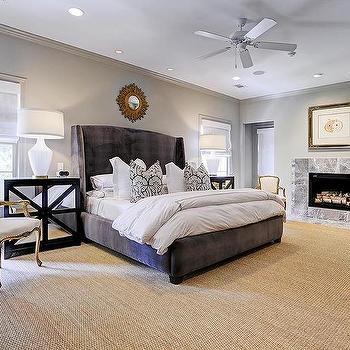 chic grey bedrooms design ideas