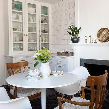 Eat In Kitchen With Fireplace