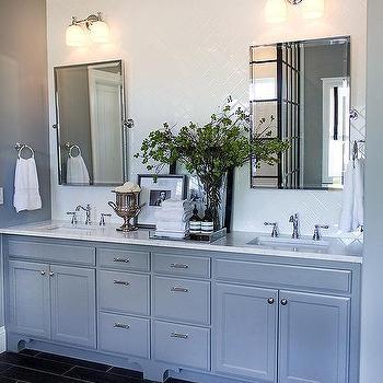 Pottery Barn Bathroom Mirror Traditional Bathroom