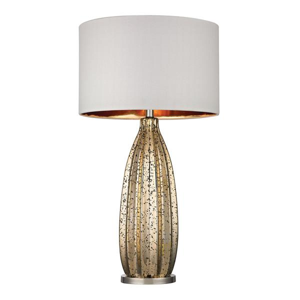 Dimond Pennistone Antique Gold Mercury Polished Nickel Table Lamp
