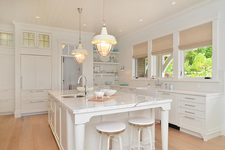 Lighted Leaded Glass Kitchen Cabinets