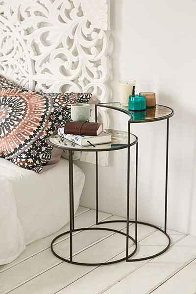 Nesting Tables In Clear - Clear nesting tables
