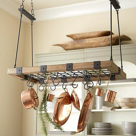 Arturo Pot Rack In Black And Brown