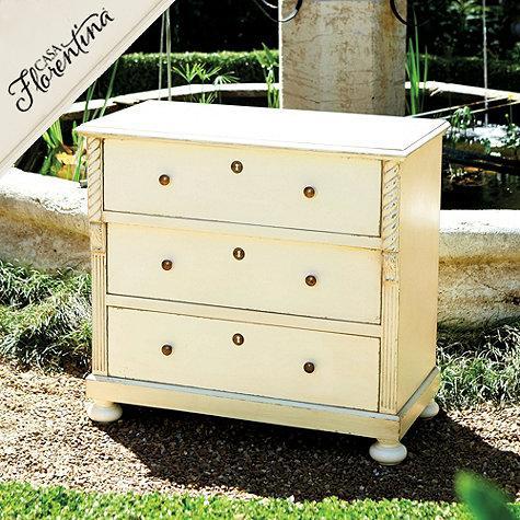 Casa Florentina Naples 3 Drawer Dresser In Cream