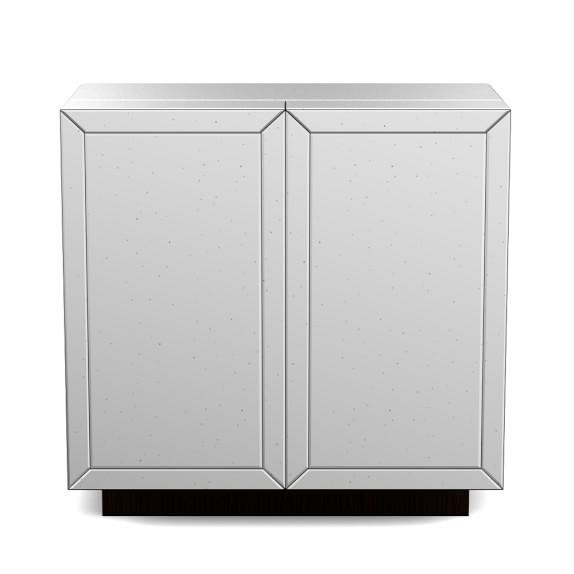 view full size harrington mirrored bar cabinet antiqued mirrored doors view full size