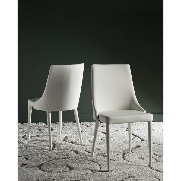 Remarkable Safavieh Summerset White Side Chair Set Of 2 Machost Co Dining Chair Design Ideas Machostcouk