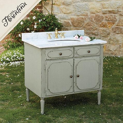 Casa Florentina Casoria Single Bath Vanity In Grey