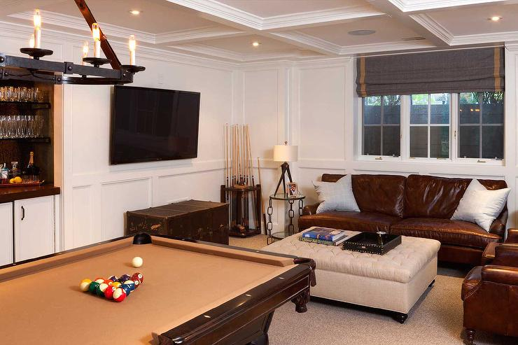 Basement Pool Table Design Ideas