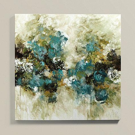 Emerald Jubilation Art In Blue And Green
