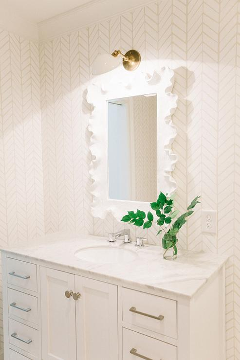 All white bathroom design transitional bathroom for All white bathrooms ideas