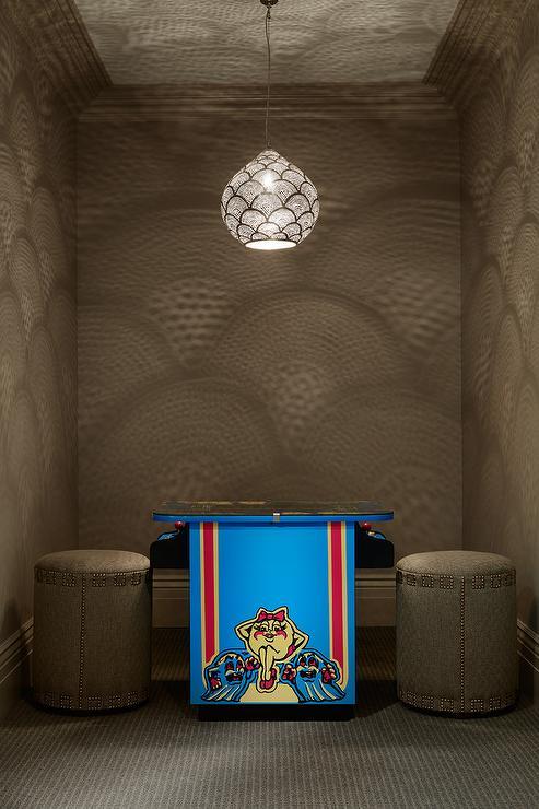 Basement Game Room Designs: Basement Video Game Room
