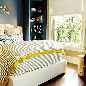 Gallery For Navy And Yellow Bedroom