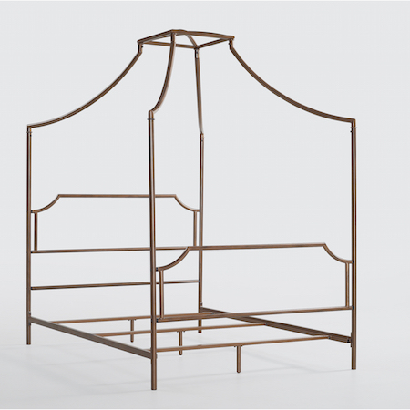 $213.99. Finds Gold Canopy Bed ...