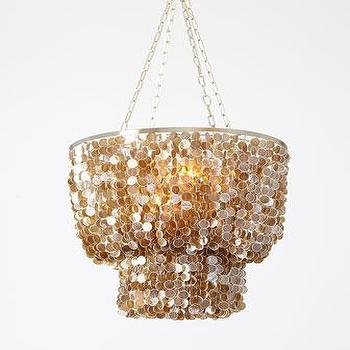 Jellyfish Two Light Pendant In Brass