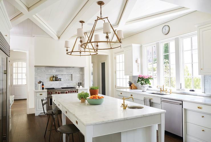 Kitchens island with ring chandelier design ideas view full size mozeypictures Image collections
