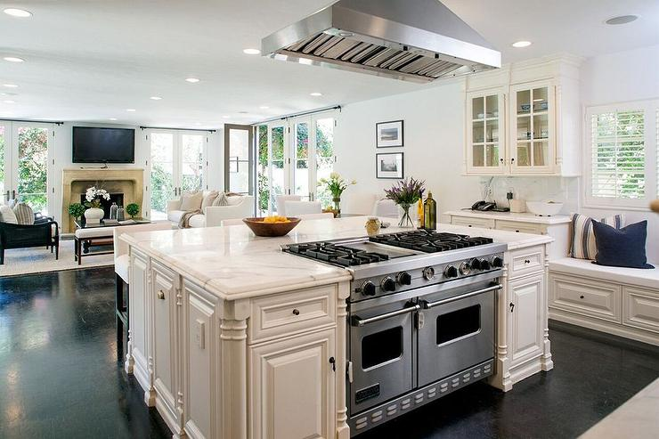 kitchen island stove design ideas