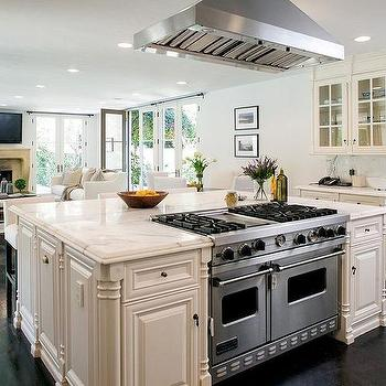 Kitchen Island With Hood Design Ideas