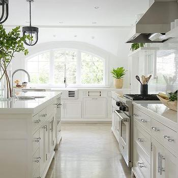 Arched Kitchen Windows Over Sink
