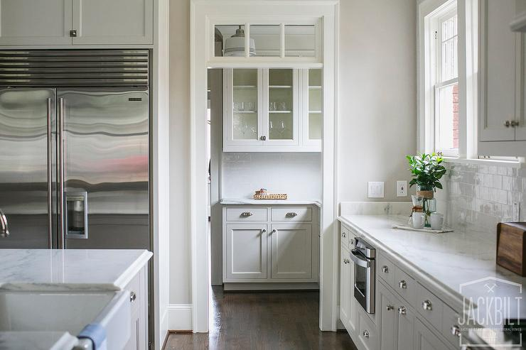Kitchen Dining Room Pass Through Butler Pantry