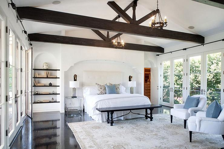 Vaulted Ceiling Wood Beams Design Ideas