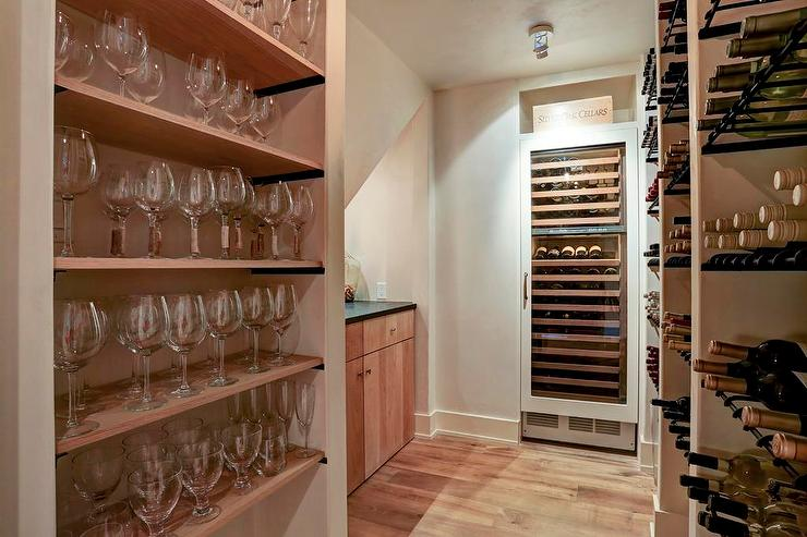 Floor To Ceiling Wine Racks Design Ideas