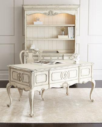 Nelson Office Furniture In White Wash