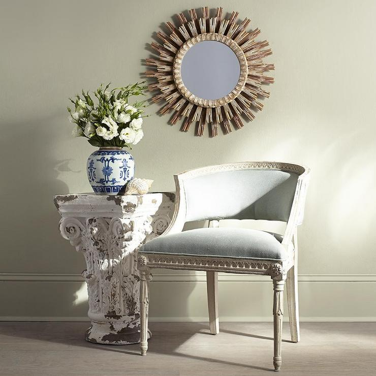 Arteriors Home Vendome Hand Carved Solid Wood Starburst