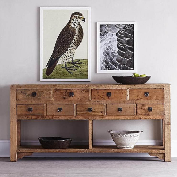 rustic console tables stunning table modern