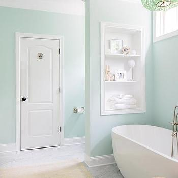 Charmant Soothing Green Bathroom Paint Colors