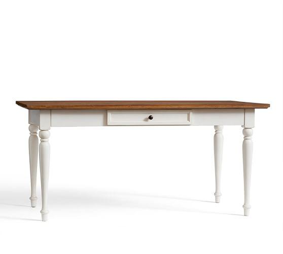 Whitney Writing Desk In White