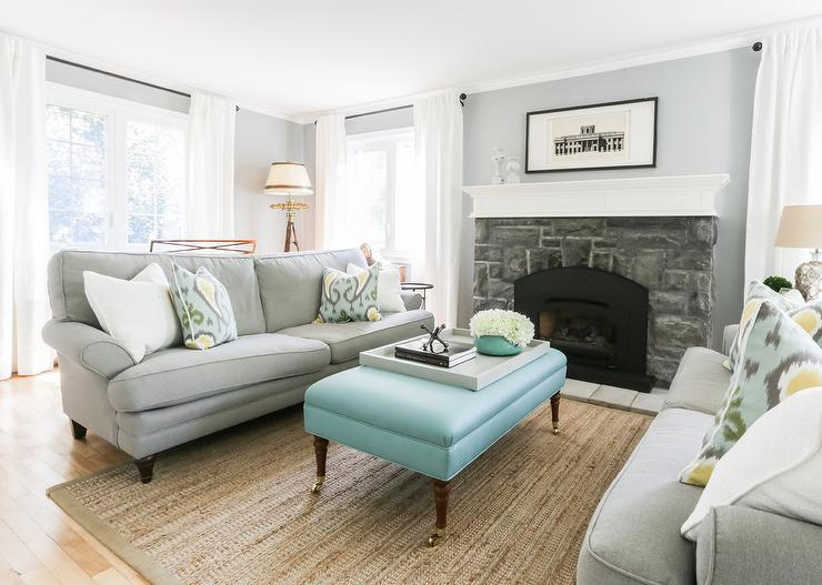 Benjamin moore blue gray living room quotes - Grey and blue living room ...