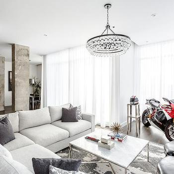 Living Room Motorcycle Design Ideas
