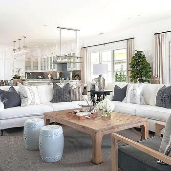 Pleasing White Sofa With Turquoise Velvet Pillows Cottage Living Room Evergreenethics Interior Chair Design Evergreenethicsorg