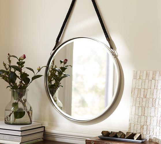 Threshold Natural Round Rope Mirror