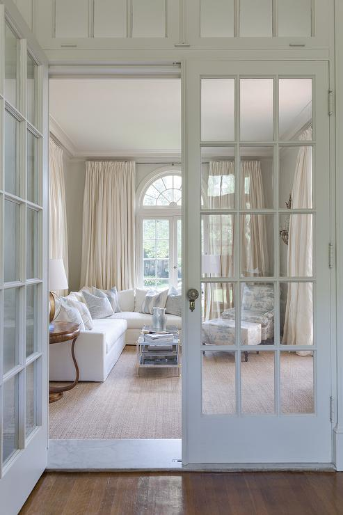 Interior French Doors With Transom Windows French