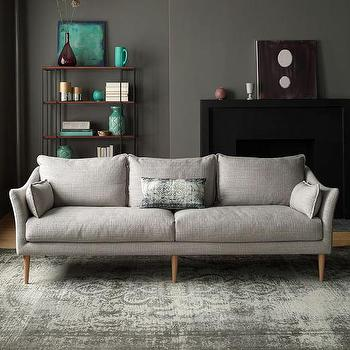 Incroyable Antwerp Sofa In Gray