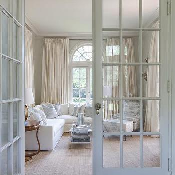 Interior French Doors With Transom Windows