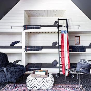 Bunk Bed Under Sloped Ceiling Design Ideas